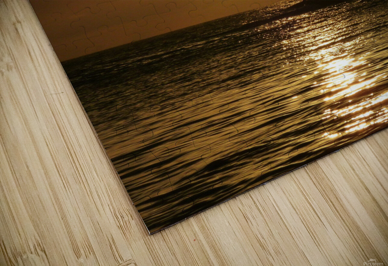 Gone Fishing HD Sublimation Metal print