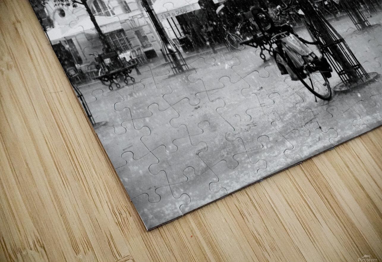 Place du Marche Sainte Catherine HD Sublimation Metal print