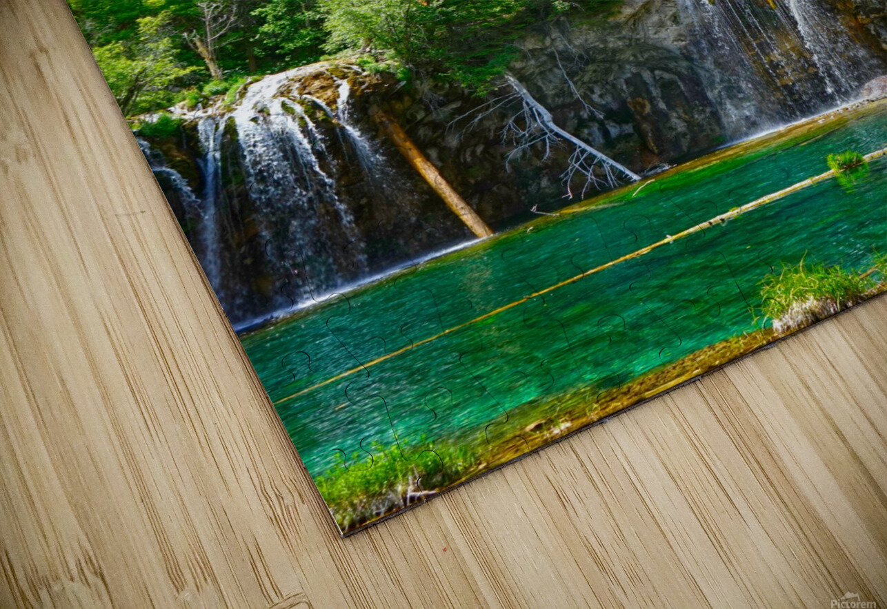 Back Country Waterfalls HD Sublimation Metal print