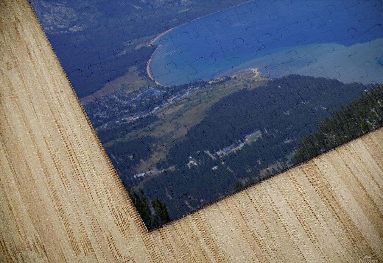 Lake Tahoe View HD Sublimation Metal print