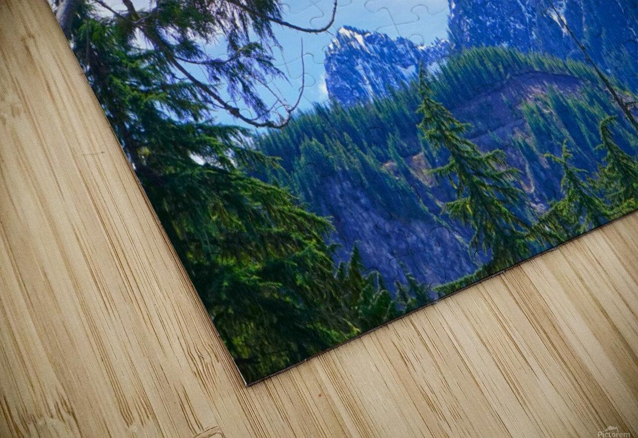The Cascades HD Sublimation Metal print