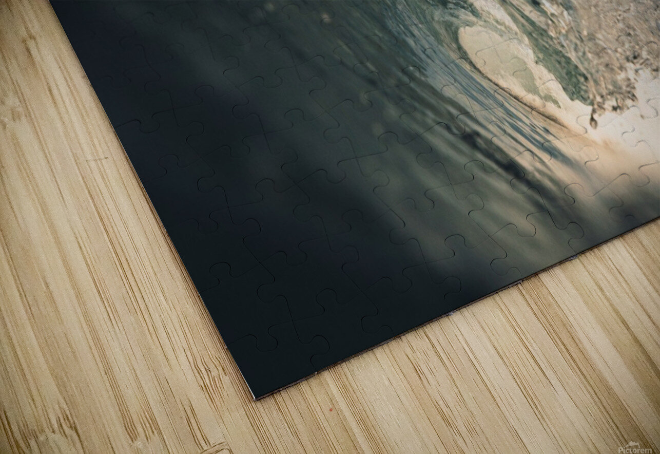 Crystal wave HD Sublimation Metal print