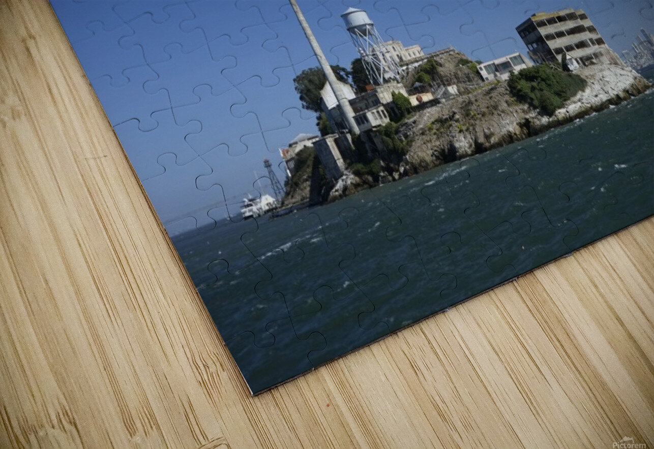 Alcatraz   The Rock @ San Francisco Bay HD Sublimation Metal print