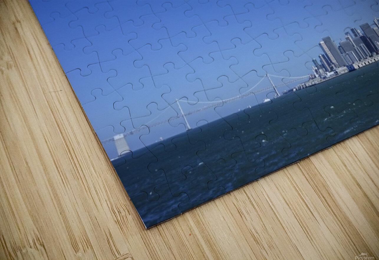 The Bay @ San Francisco HD Sublimation Metal print