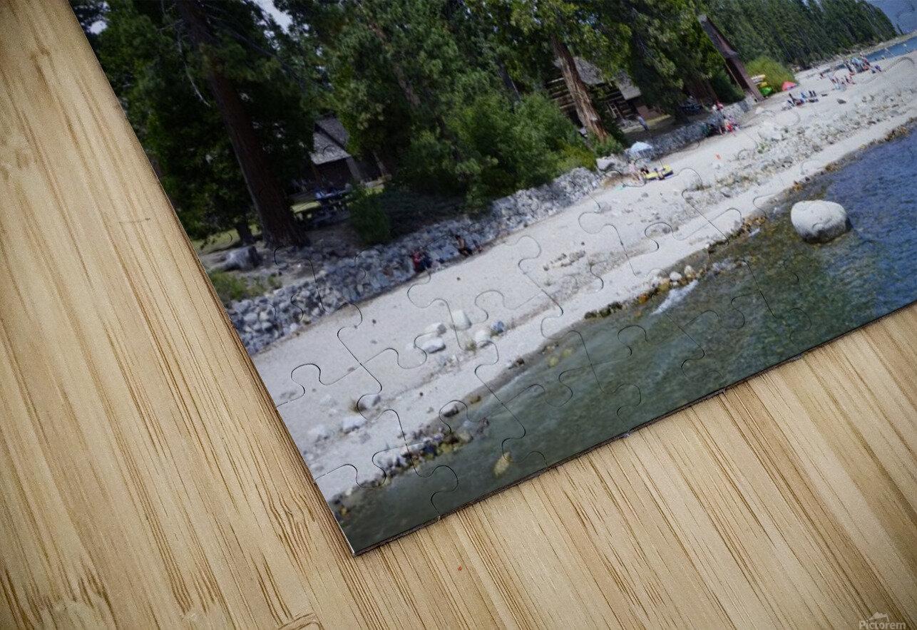 Spring at Lake Tahoe 2 of 7 HD Sublimation Metal print