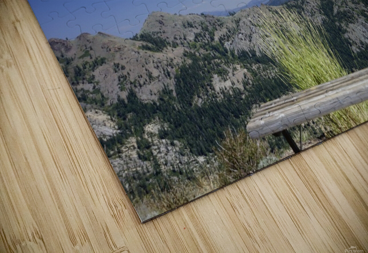 Open Seating HD Sublimation Metal print