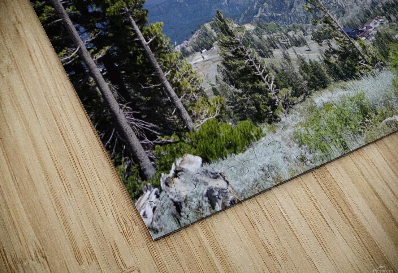 Sierra Nevada in Spring 2 of 8 HD Sublimation Metal print