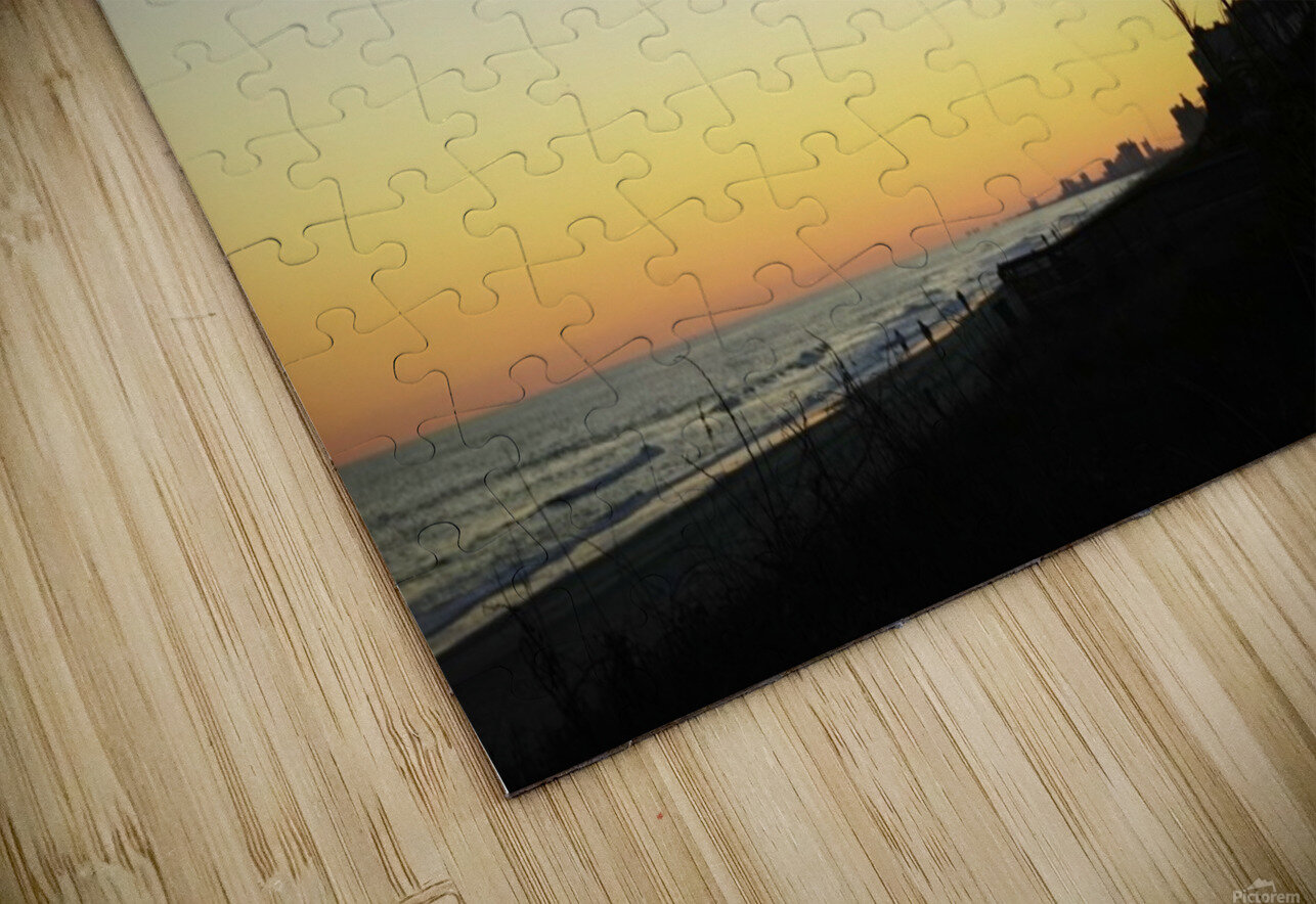 Atlantic Sunset @ Myrtle Beach HD Sublimation Metal print
