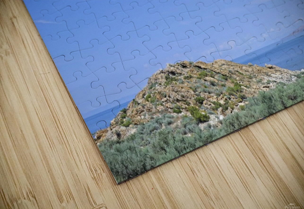 The Great Salt Lake 2 of 7 HD Sublimation Metal print