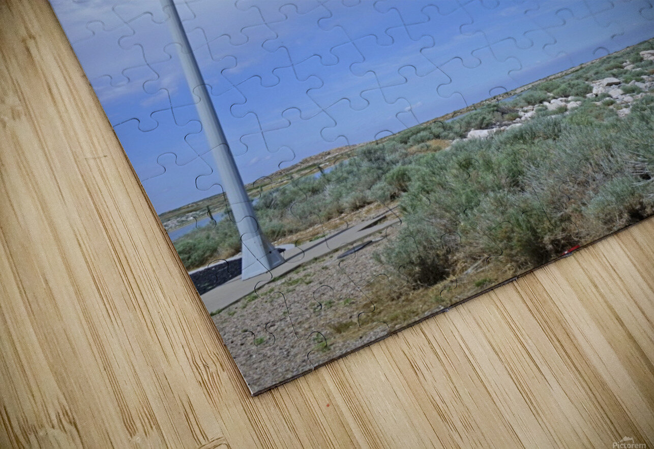 The Great Salt Lake 5 of 7 HD Sublimation Metal print