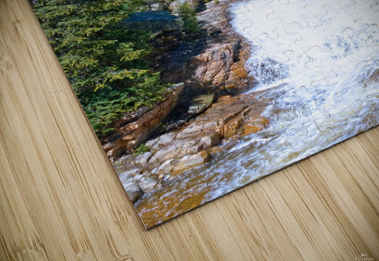 On The Road to Mirror Lake 1 of 5 HD Sublimation Metal print