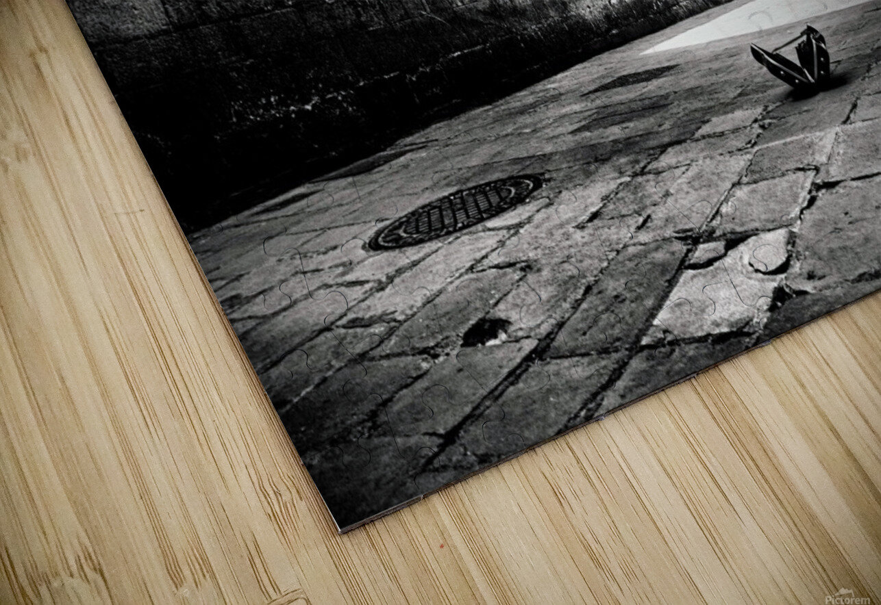 Silent Street HD Sublimation Metal print