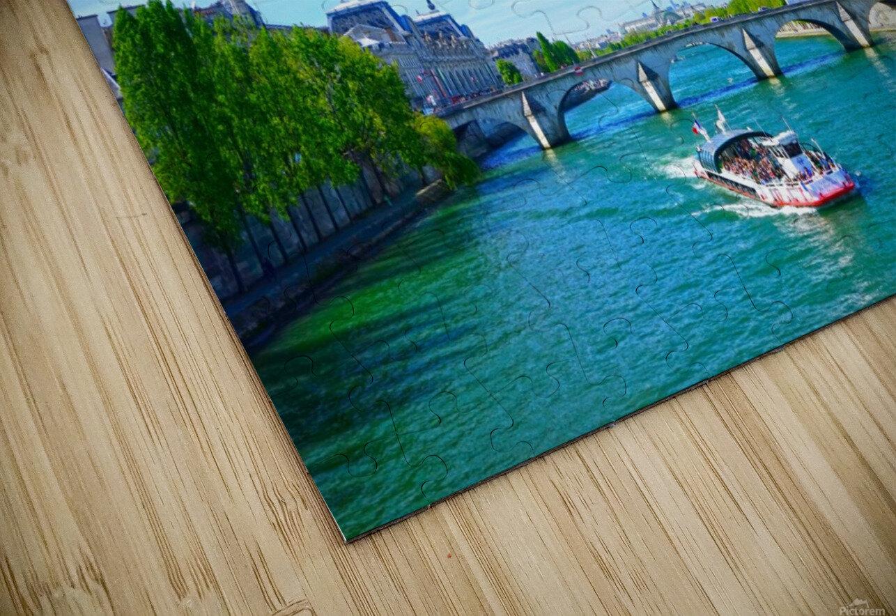 Paris Snapshot in Time 6 of 8 HD Sublimation Metal print
