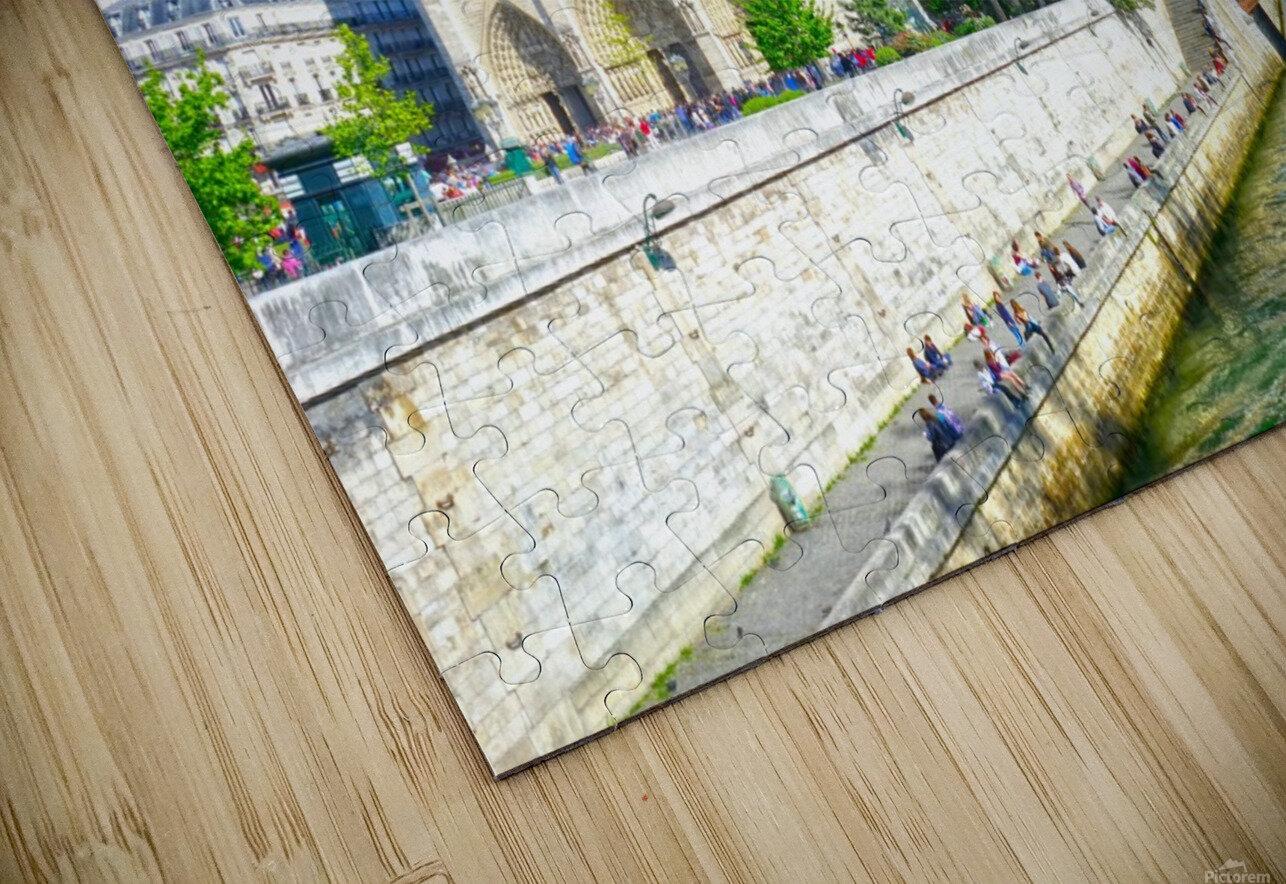 Paris Snapshot in Time 8 of 8 HD Sublimation Metal print