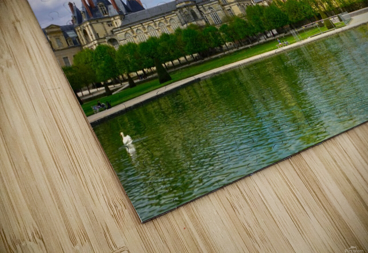 Chateaus of France 4 HD Sublimation Metal print