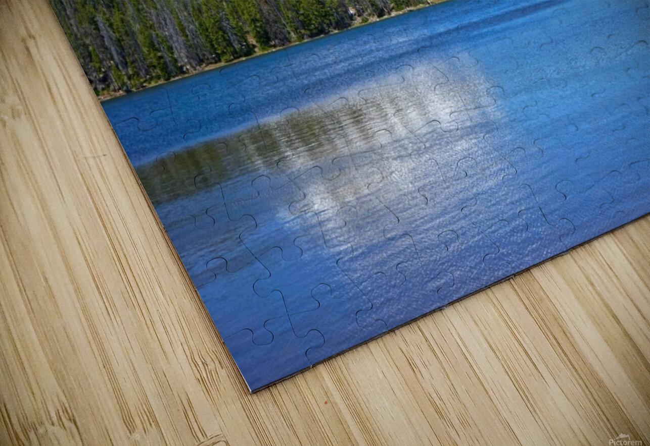 Mirror Lake HD Sublimation Metal print