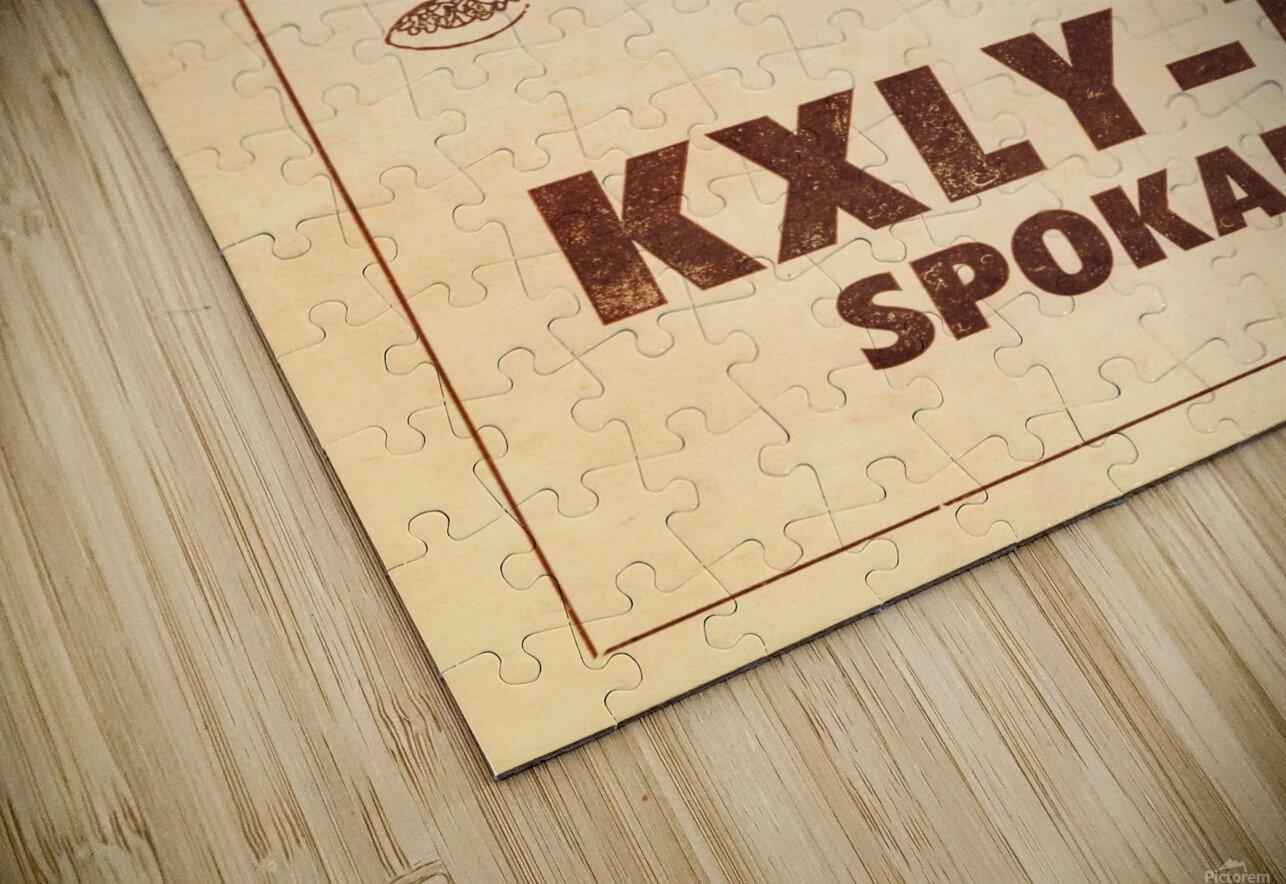 1962 kxly tv spokane football ad HD Sublimation Metal print