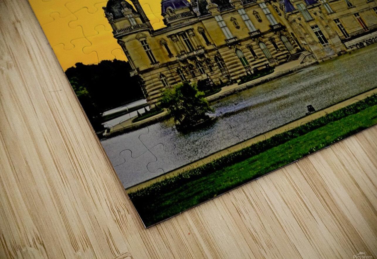 Chateau de Fontainebleau HD Sublimation Metal print