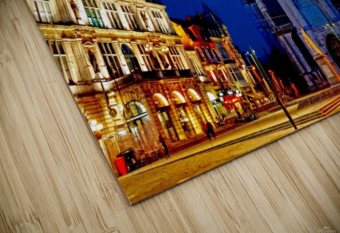 Beautiful Belgium 2 of 7 HD Sublimation Metal print