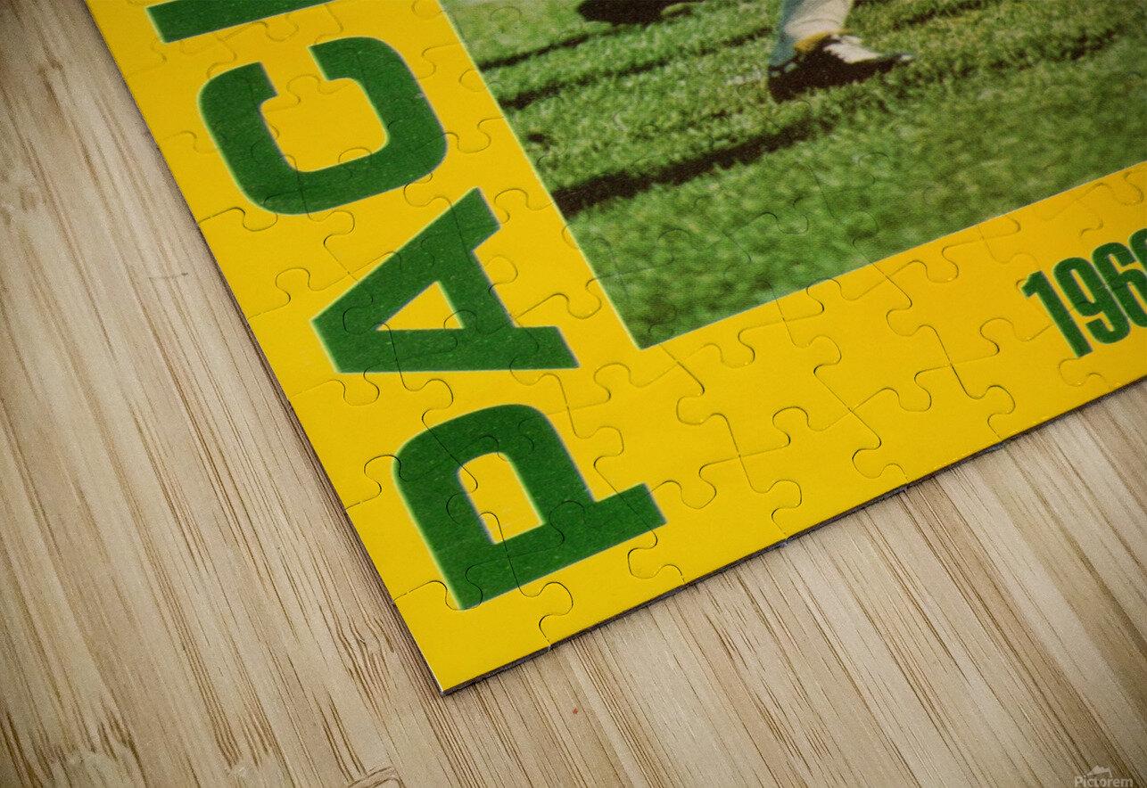1966 Green Bay Packers Football Art HD Sublimation Metal print