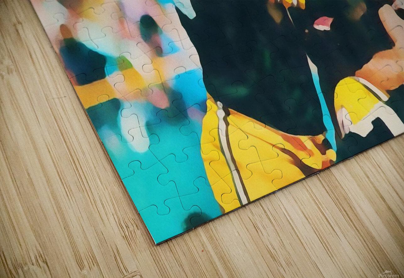 Vintage Green Bay Packers Art Digital Painting HD Sublimation Metal print