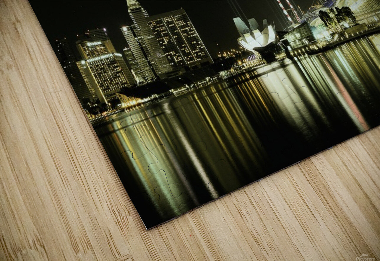 Night in the City by hardibudi   HD Sublimation Metal print