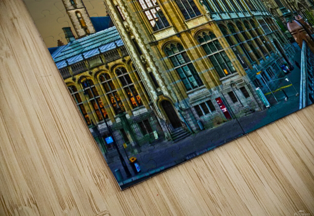 Passport to Belgium 2 of 5 HD Sublimation Metal print