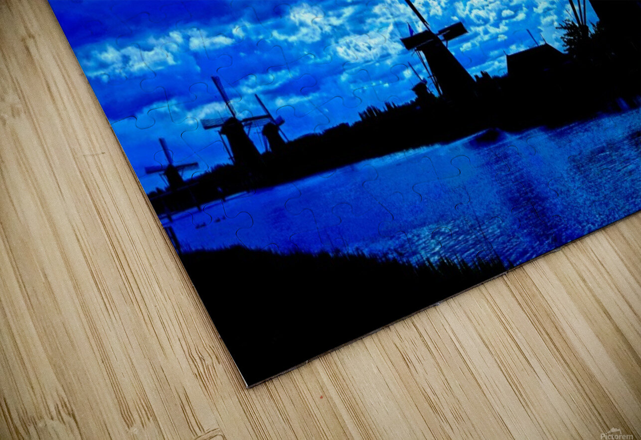 Windmills of the Netherlands 4 of 4 HD Sublimation Metal print