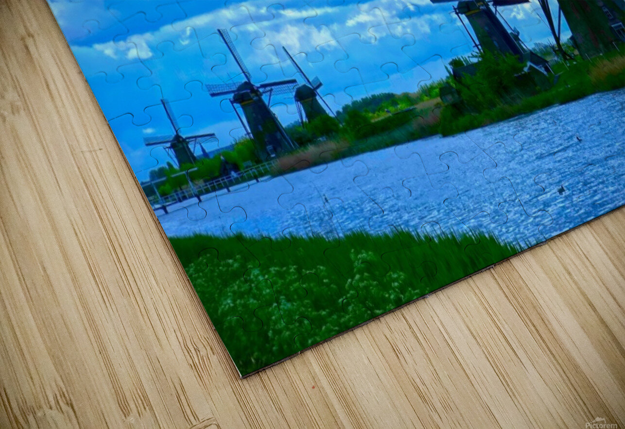 I Dreamed of Windmills HD Sublimation Metal print
