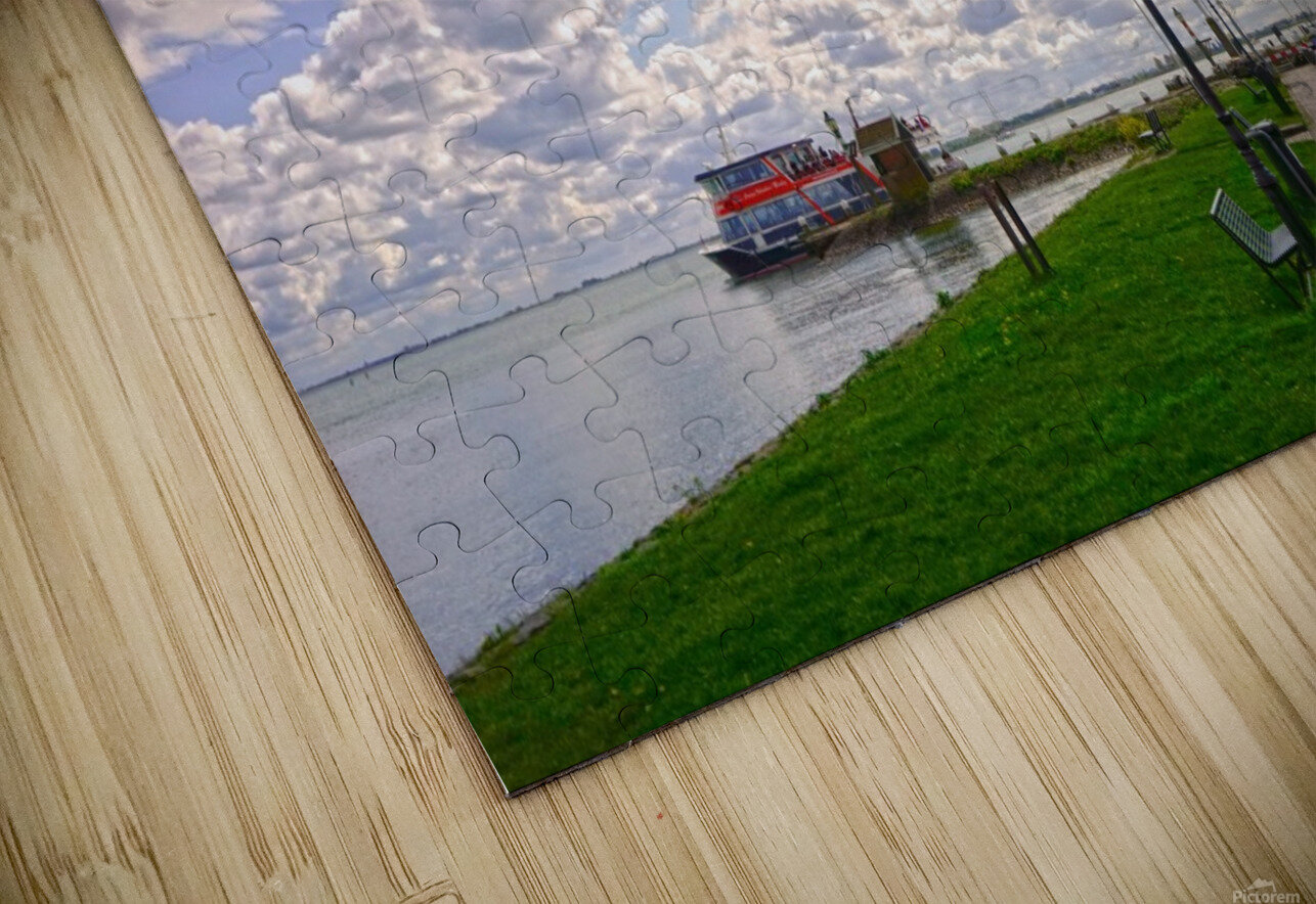 Inland Harbor Netherlands 3 of 5 HD Sublimation Metal print