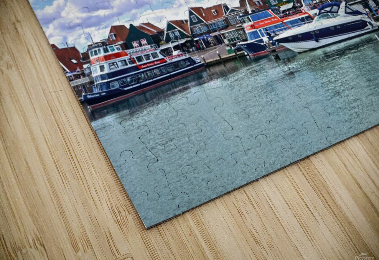 Inland Harbor Netherlands 1 of 5 HD Sublimation Metal print