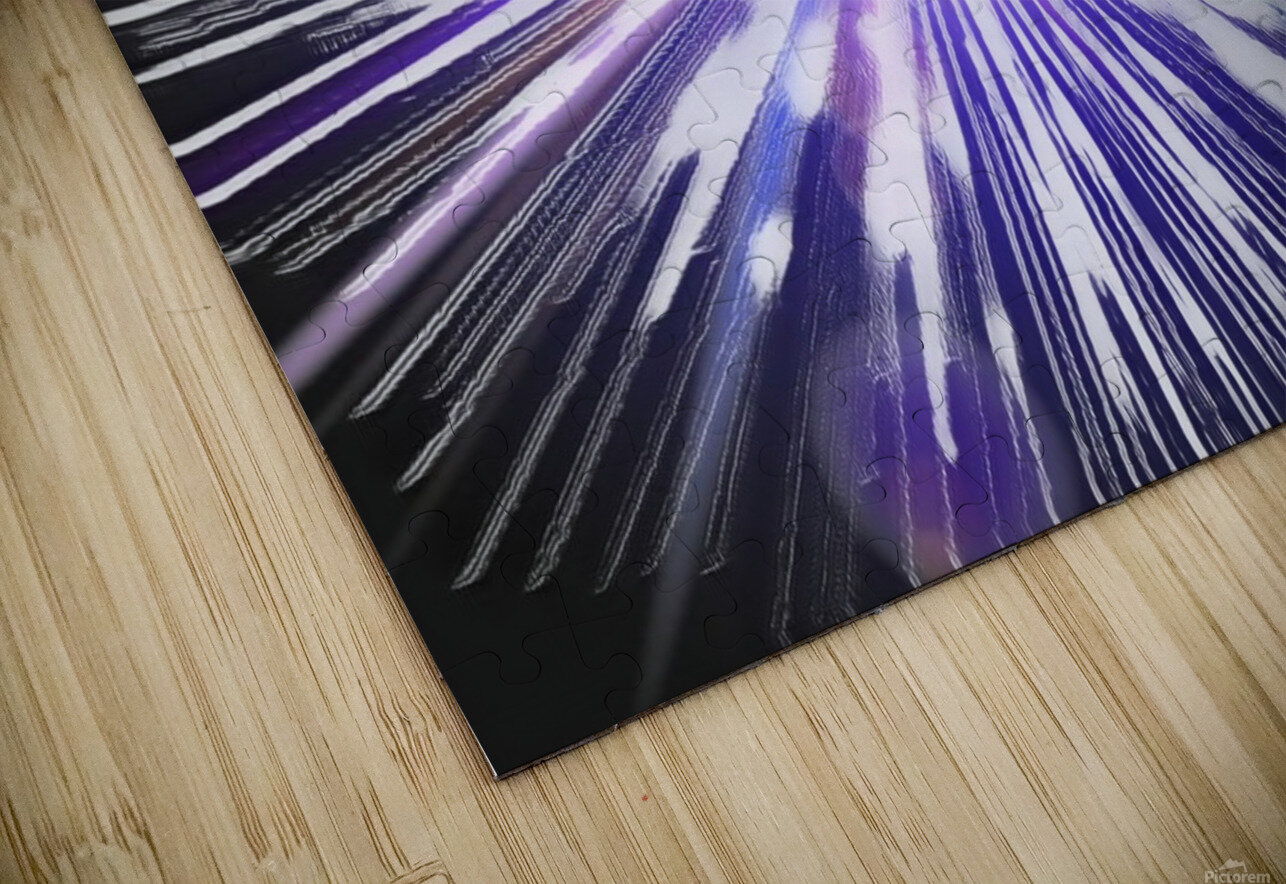 Speed of light HD Sublimation Metal print