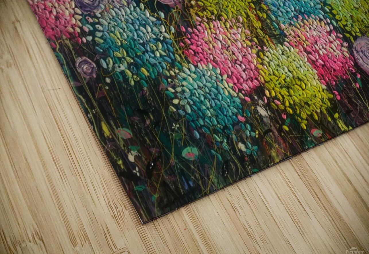 Flower Candy  HD Sublimation Metal print