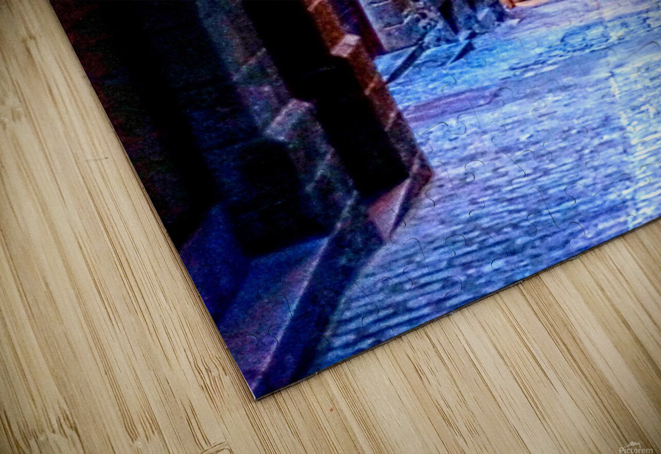A Day at Mont Saint Michel 2 of 12 HD Sublimation Metal print