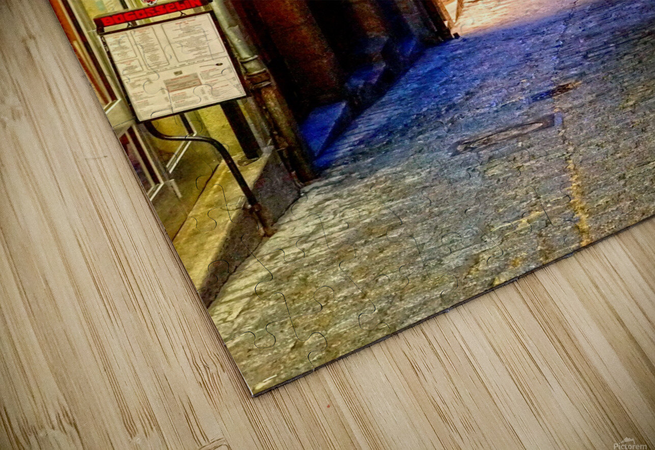 A Day at Mont Saint Michel 4 of 12 HD Sublimation Metal print