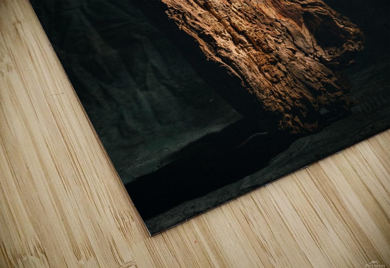 Le jour de lillumination HD Sublimation Metal print