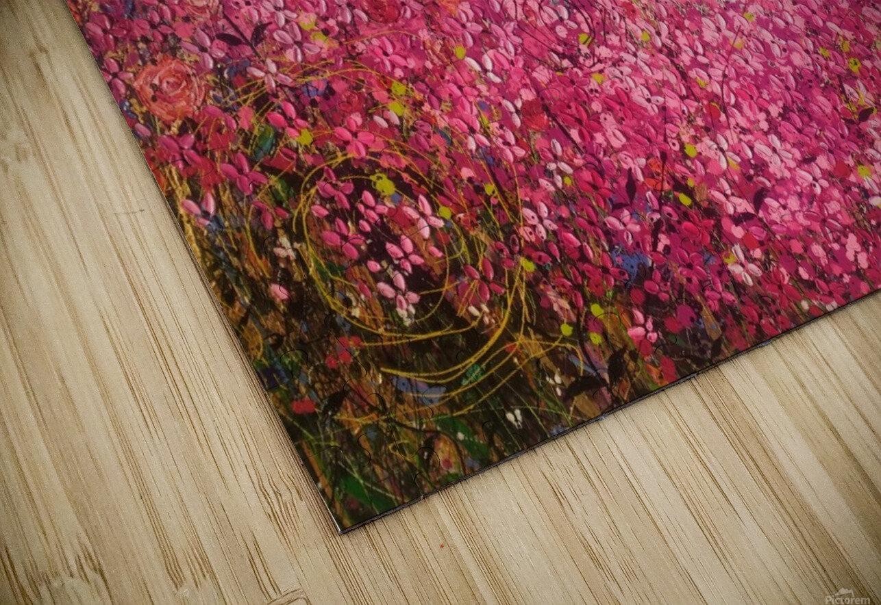Floral Cascade  HD Sublimation Metal print
