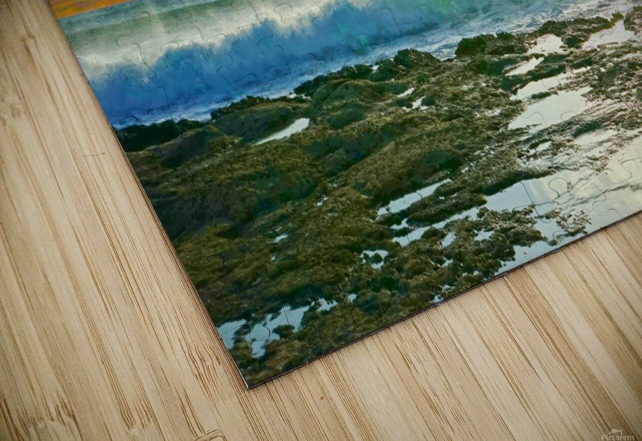 Changing of the Tides HD Sublimation Metal print