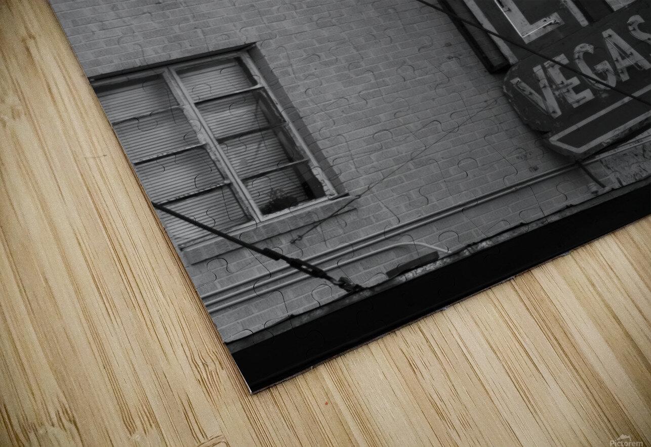 HOTEL VEGAS HD Sublimation Metal print