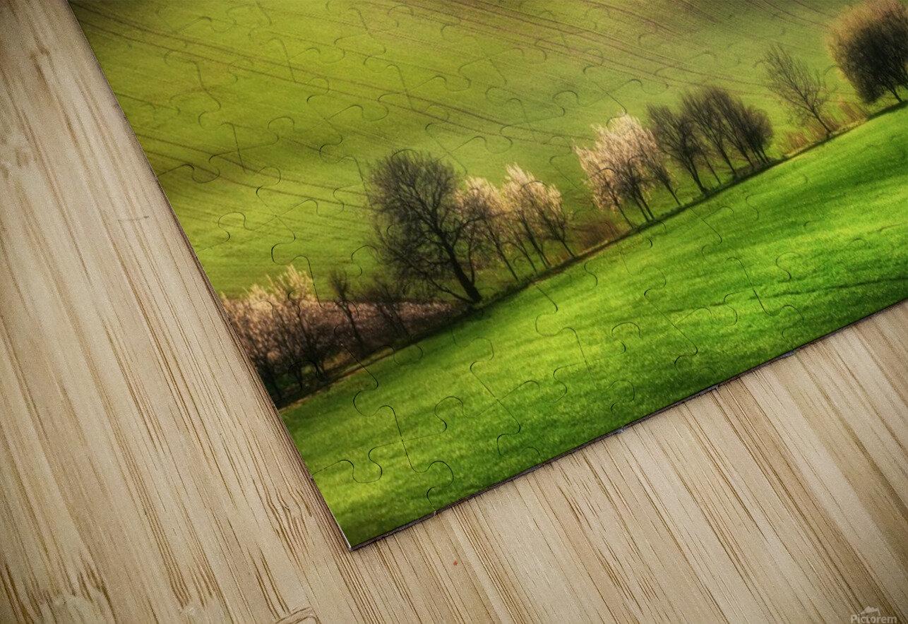Moravian Fields HD Sublimation Metal print
