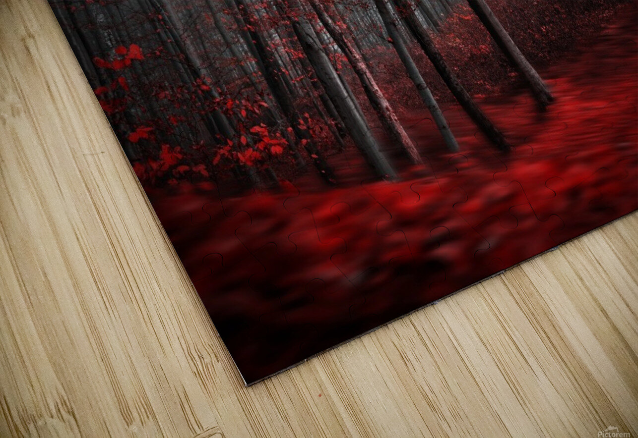 Bloody River HD Sublimation Metal print