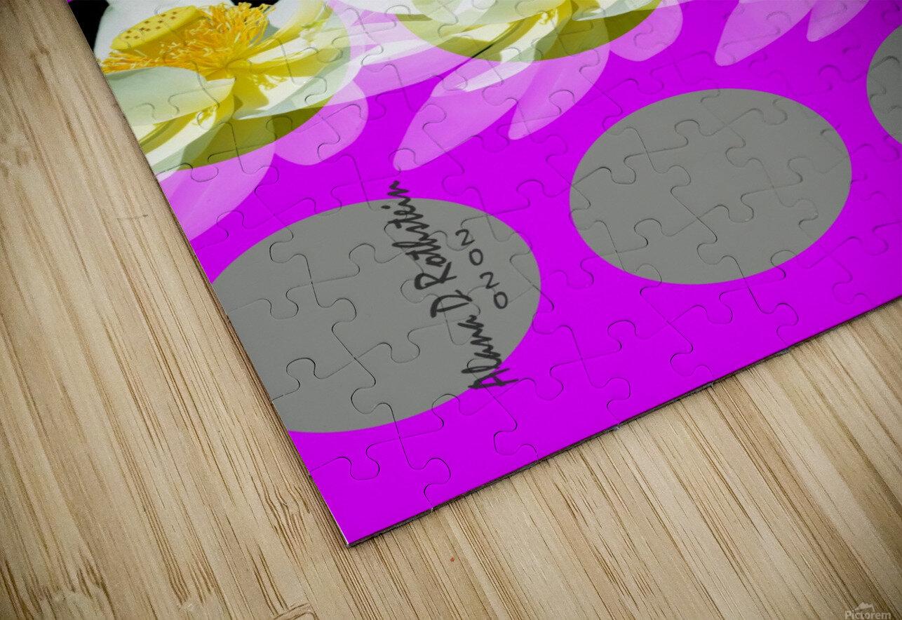 Lotus 4 HD Sublimation Metal print