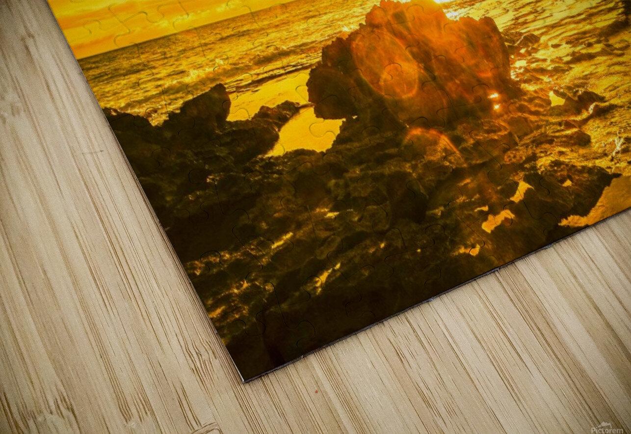 Majestic Sunset HD Sublimation Metal print