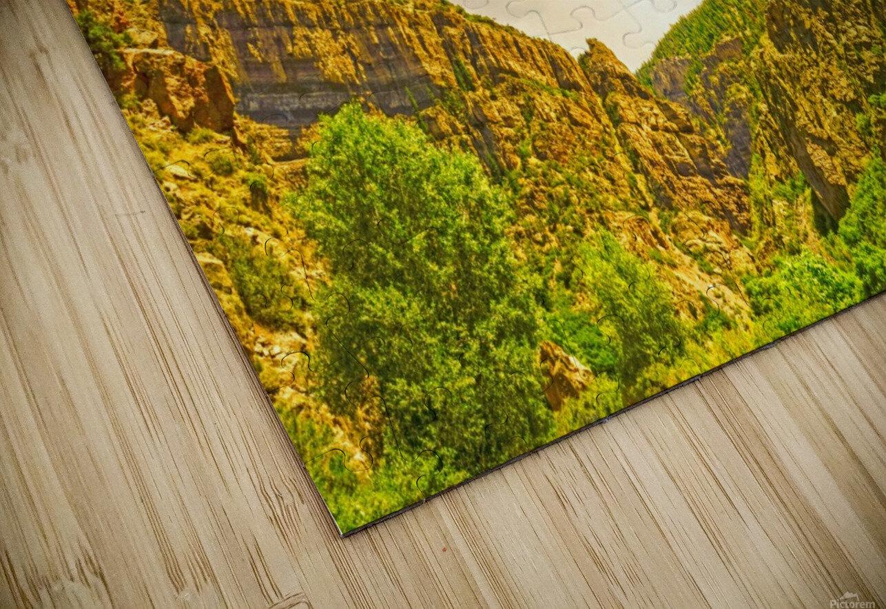 Golden Colorado HD Sublimation Metal print