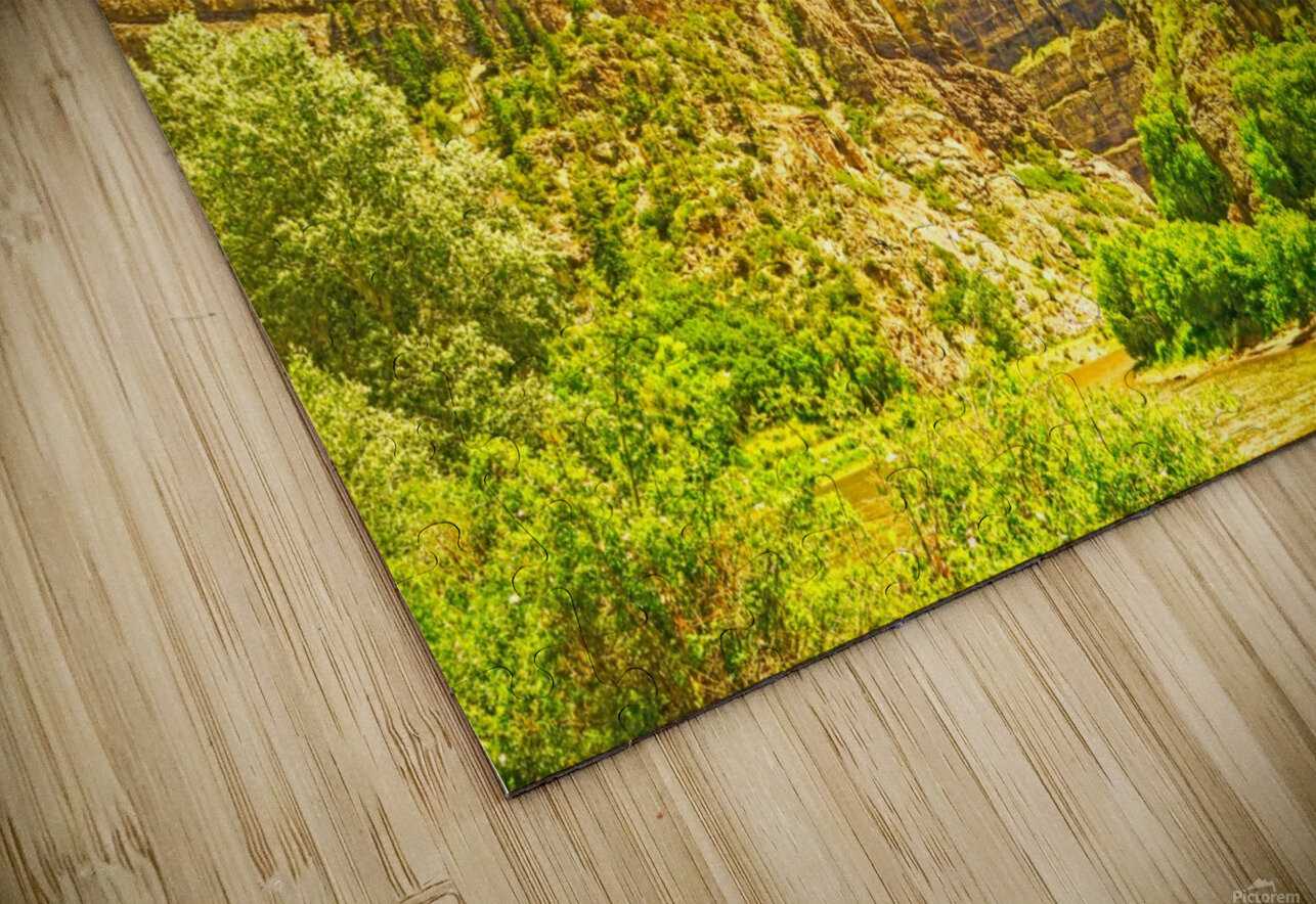 Golden Colorado 2 HD Sublimation Metal print