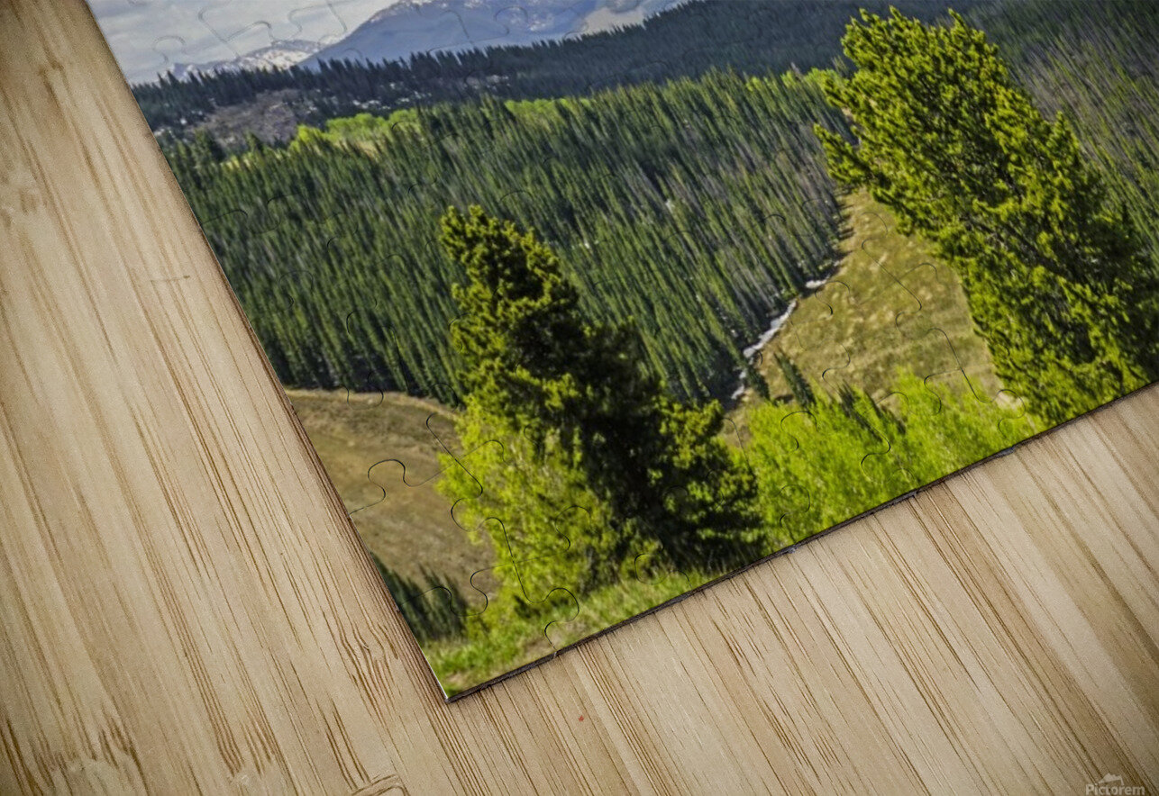 Back Country Colorado 1 of 8 HD Sublimation Metal print