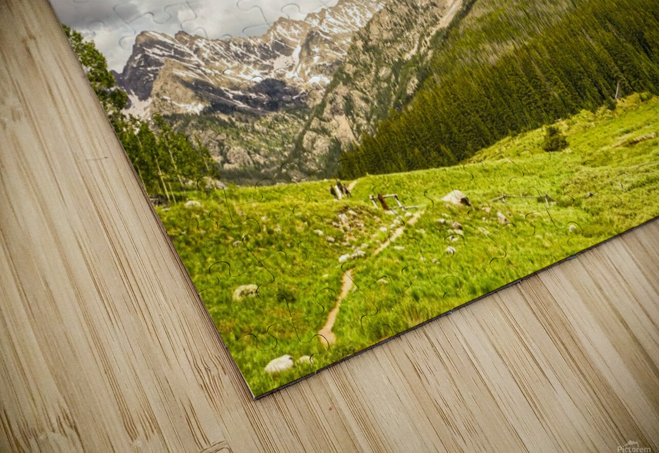 Back Country Colorado 3 of 8 HD Sublimation Metal print