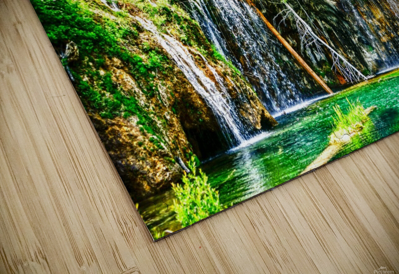 Waterfall Country Colorado 3 of 4 HD Sublimation Metal print