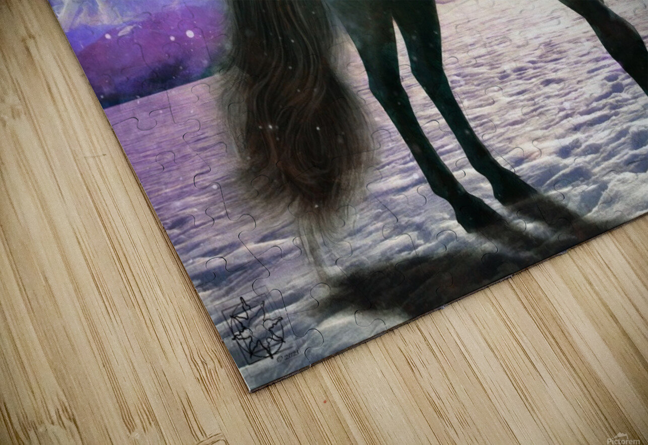 The Winter Warden HD Sublimation Metal print