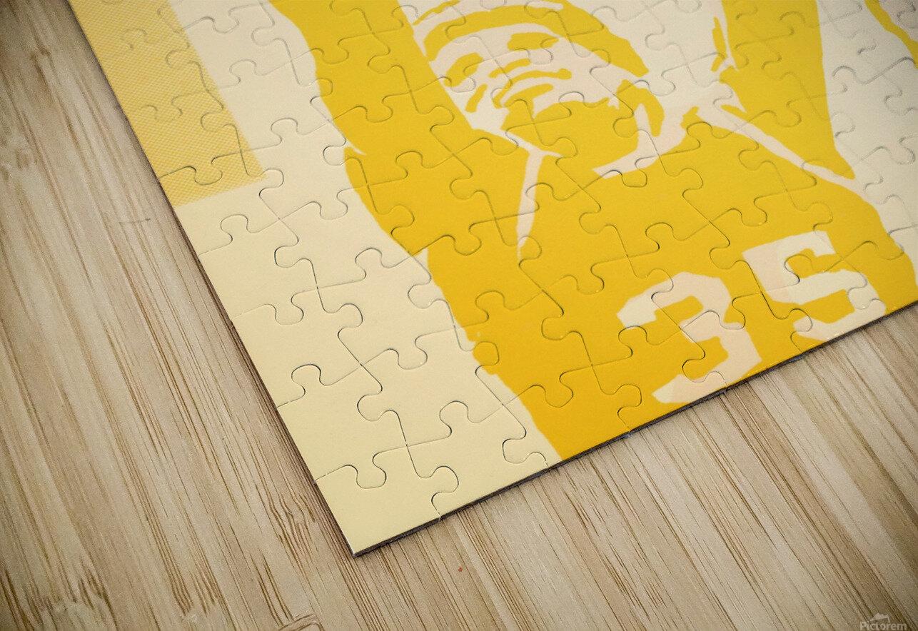 1980 Utah Jazz Retro Basketball Art HD Sublimation Metal print